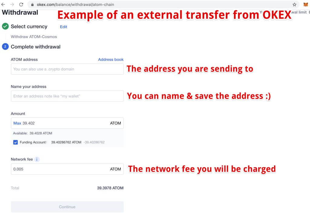 how to withdraw crypto